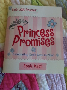 Princess Promises, by Sheila Walsh